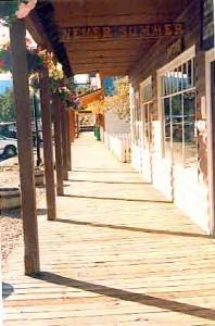 Grand Lake, Colorado's famous old boardwalk.