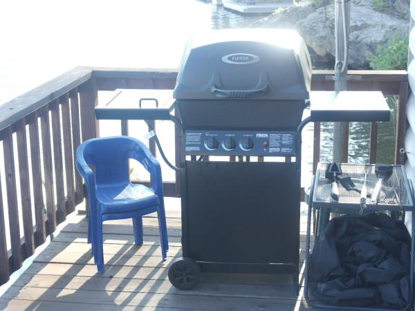 Propane Grill of the Grand Lake Boathouse